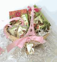 travel gift basket eiffel tower theme baskets and gift collections