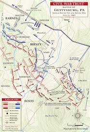 Map Of Usa During Civil War by Gettysburg Devil U0027s Den And Little Round Top 4 30 To 5 30pm