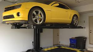 single post car lifts protect your cars u0026 save space