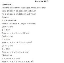 ncert solutions for class 6 maths mensuration exercise 10 3