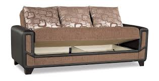 Outdoor Sofa Bed Mondo Modern Brown Convertible Sofa Bed By Casamode