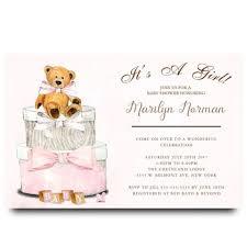 teddy baby shower chalkboard teddy baby shower invitation 2