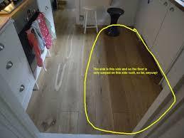 Kitchen Flooring Wood - wood kitchen floor wooden work surface kitchen fitting job in