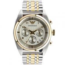 gold armani bracelet images Emporio armani chronograph bracelet men 39 s watch 42mm ar0396 jpg