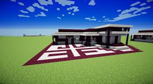 Plan Minecraft Maison by Tuto Maison Moderne Minecraft Youtube