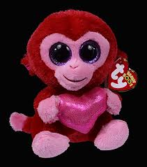 charming monkey ty beanie boos birthday february 26
