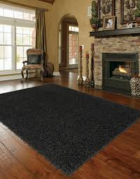 Solid Black Area Rugs Shaggy Large Black Area Rug My Home Pinterest Shaggy
