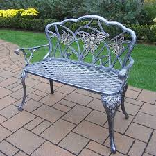 Butterfly Patio Chair Butterfly Outdoor Seat Bench Antique Bronze Walmart