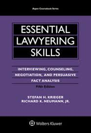 Counseling Interviewing Skills Aspen Publishers Essential Lawyering Skills Interviewing