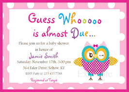 template baby shower invitations card for girls