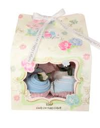 vintage tea party baby boy coochy coo nappy cakes