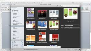 mac brochure templates how to make a brochure in microsoft word for a mac 10 steps