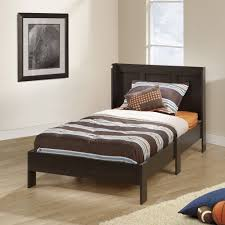 Bedroom Furniture Espresso Finish Acme Furniture Dontao Wood Twin Bed Multiple Colors Walmart Com