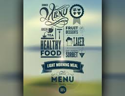how restaurant graphic design trends have changed food newsfeed