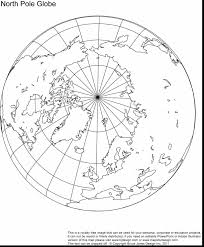 North Pole Map Fantastic North Pole Map Outline With World Map Coloring Page