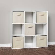 Closetmaid 6 Cube Closetmaid Cubeicals 9 Cube Organizer White Roselawnlutheran