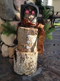 wooden snowman wood snowman tutorial busy vegetarian