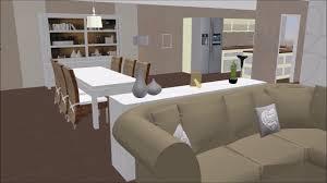 cuisine virtuelle visite virtuelle salon séjour cuisine