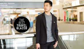 travel blazer images Best travel blazer men 39 s wrinkle resistant travel blazer betabrand jpg
