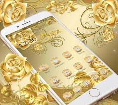 Gold Rose Download Gold Rose Theme Royal Gold Free Games And Apps For Android