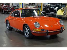 1969 porsche 911s coupe fully restored german cars for sale