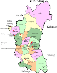 Map Of Malaysia Clipart Parliamentary Map Of Perak Malaysia