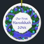 custom chanukah ornaments personalized photo chanukah ornaments