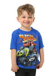 toddler boys blaze monster trucks group shot shirt