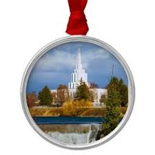wood temple ornaments lds temple christmas ornaments wood tags