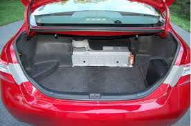 2007 toyota yaris battery size image nickel metal hydride hybrid battery pack in trunk of 2009