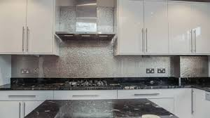 superb kitchens with black tile silver metallic wall tiles with black countertop and fabulous