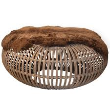 Wicker Storage Ottoman Coffee Table Sofa Ottoman Coffee Table Cocktail Ottoman Wicker Storage