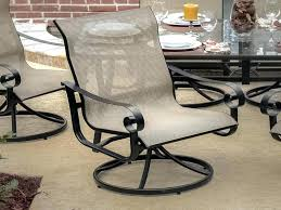 Swivel Rocker Patio Dining Sets Sling Swivel Rocker Patio Chair Swivel Chair Design