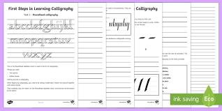 calligraphy activity sheets ks2 handwriting day 23rd jan 2017