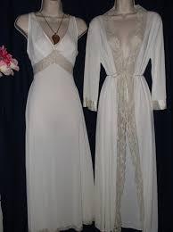 peignoir sets bridal vintage 1960s bridal peignoir set by sears 2 nightgown and