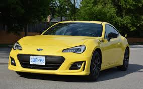 subaru yellow 2017 subaru brz inazuma edition blinded by the light the car guide