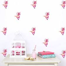unicorn wall decal stickers add a magical atmosphere miglioreanello unicorn wall stickers