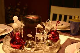 charming table decorations for home christmas banquet decoration