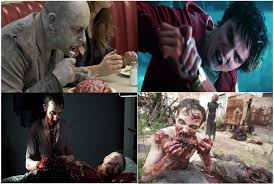 warm bodies is a zombie movie containing a great deal of blood and