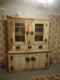 How To Update Old Kitchen Cabinets Primitive Old Cabinet With Drawers And Classic Knob Combine Glass