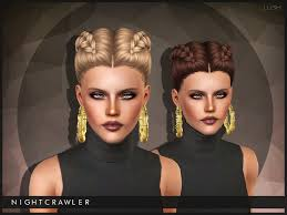 the sims 3 hairstyles and their expansion pack dutch pigtails braids it says its a sims 4 conversion and i m