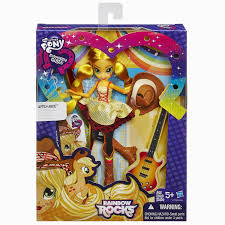 applejack hairstyles applejack rockin hair rainbow rocks equestria girls doll ong they
