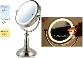 light up makeup mirror the future of cosmetics the lighted makeup mirror