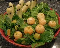 cute u0026 healthy halloween salad recipe quick cooking