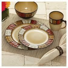 pfaltzgraff expressions emilia 16pc dinnerware set target