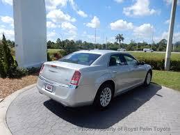2012 used chrysler 300 4dr sedan v6 rwd at royal palm toyota