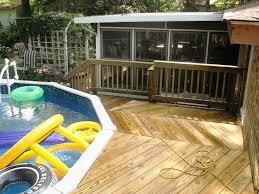 Backyard Deck Prices Best Above Ground Pools With Decks Plans U2014 Jburgh Homes