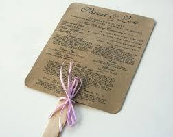 Wedding Program Examples Do You Like My Wedding Program Fans Weddingbee