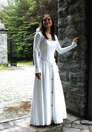 celtic wedding dresses wouldn t go for the sleeves but the flattened front and the cord