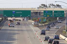 Traffic Map San Diego by Erratic U0027 Man Threatening To Jump Off Overpass South I 5 Closed